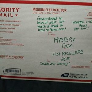 Mystery box for reselling or keeping